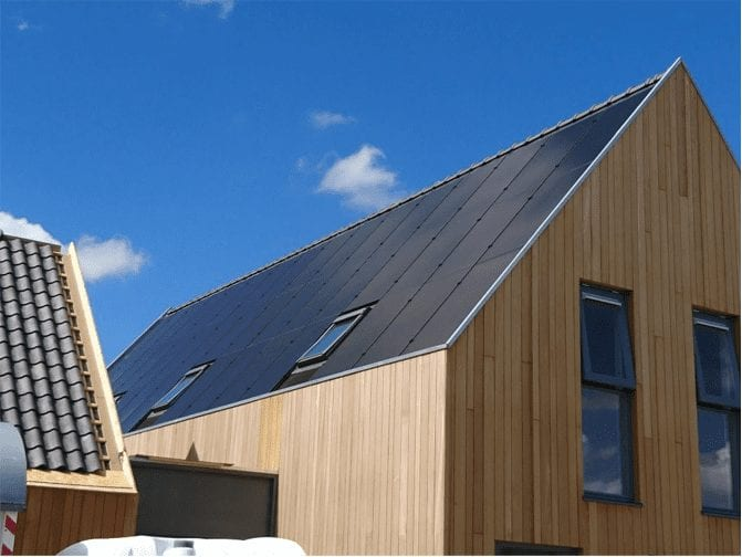 solar panels for new build properties